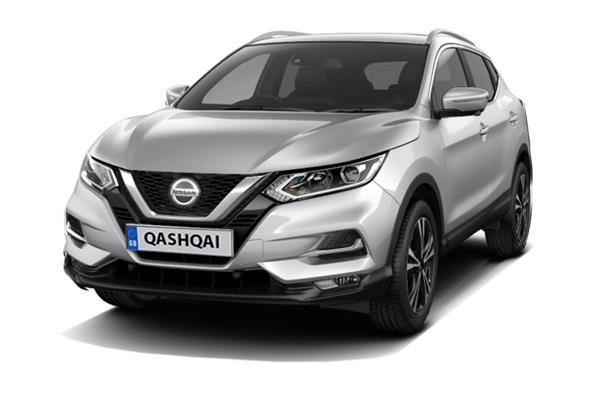 Nissan Qashqai 1.3 DiG-T N-Connecta [Glass Roof Pack] 5dr Business Contract Hire 6x35 10000