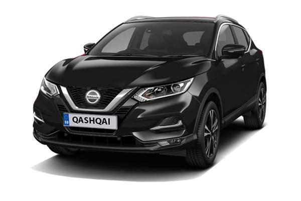 Nissan Qashqai 1.3 DiG-T N-Connecta [Glass Roof Pack] 5dr Business Contract Hire 6x47 10000