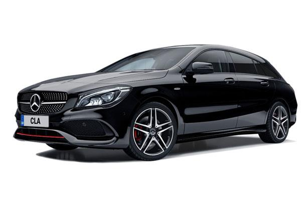 Mercedes Benz CLA Class Shooting Brake CLA 250e AMG Line Premium 5dr Tip Auto Business Contract Hire 6x35 10000