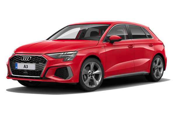 Audi A3 Sportback 30 Tfsi S Line 5dr Business Contract Hire 6x47 10000