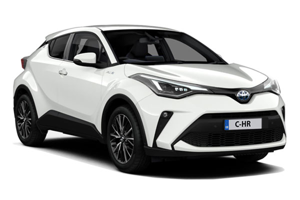 Toyota C-HR Hatchback 1.8 Hybrid Excel 5dr CVT Business Contract Hire 6x35 10000