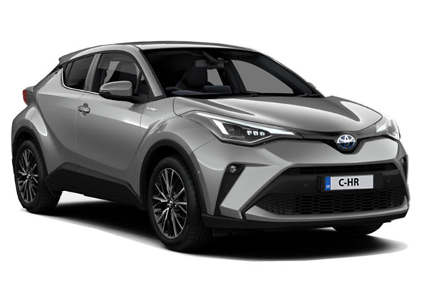 Toyota C-HR Hatchback 2.0 Hybrid Excel 5dr CVT Business Contract Hire 6x35 10000