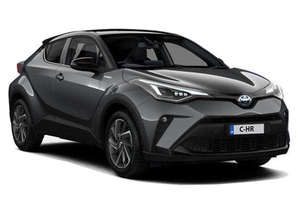 Toyota C-HR Hatchback 2.0 Hybrid Dynamic 5dr CVT Business Contract Hire 6x35 10000