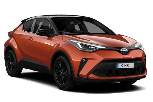 Toyota C-HR Hatchback Special Edtion 2.0 Hybrid Orange Edition CVT Business Contract Hire 6x35 10000