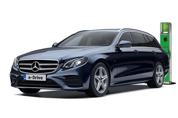 Mercedes Benz E Class Diesel Estate E300de AMG Line 9G-Tronic Business Contract Hire 6x35 10000