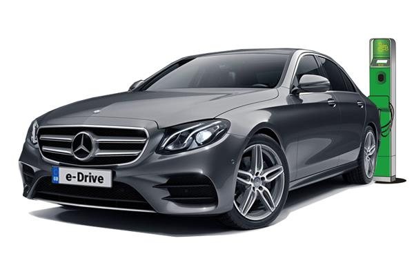Mercedes Benz E Class Diesel Saloon E300de AMG Line Night Edition Premium Plus 4dr 9G-Tronic Business Contract Hire 6x35 10000