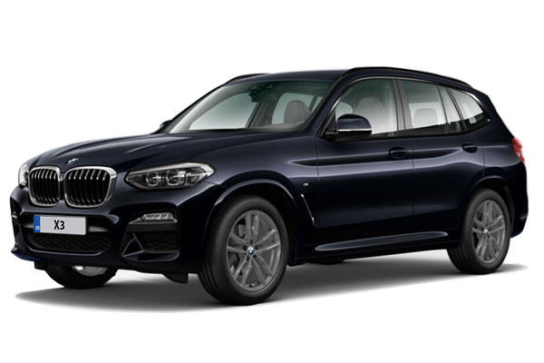 Bmw X3 Diesel Estate xDrive20d M Sport 5dr Step Auto [Tech Pack] Business Contract Hire 6x47 10000