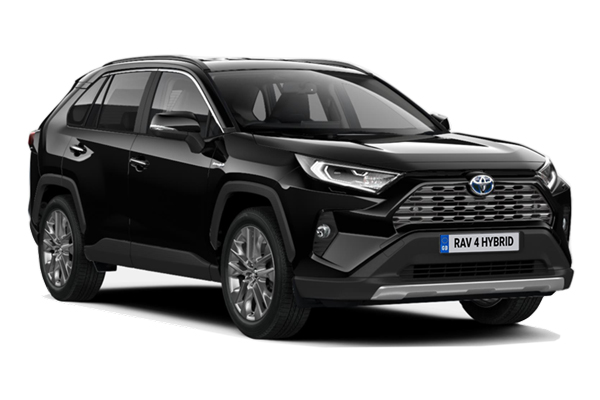 Toyota Rav4 Estate 2.5 VVTi Hybrid Excel 5dr CVT 4WD Business Contract Hire 6x35 10000