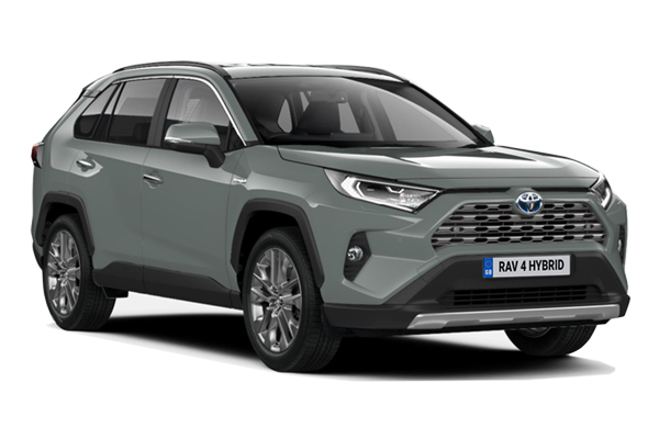 Toyota Rav4 Estate 2.5 VVTi Hybrid Excel 5dr CVT 2WD Business Contract Hire 6x35 10000