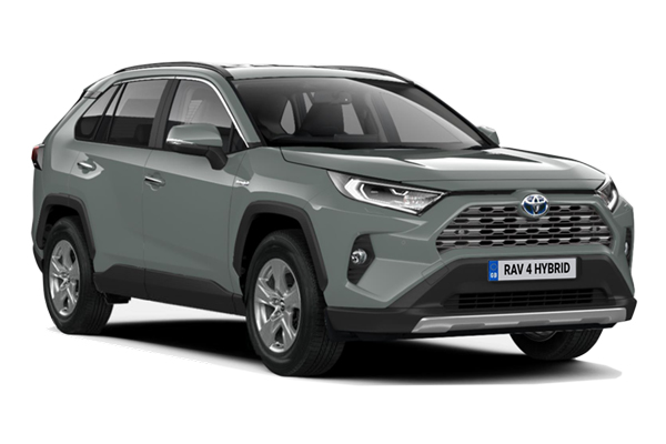 Toyota Rav4 Estate 2.5 VVTi Hybrid Icon 5dr CVT 2WD Business Contract Hire 6x35 10000