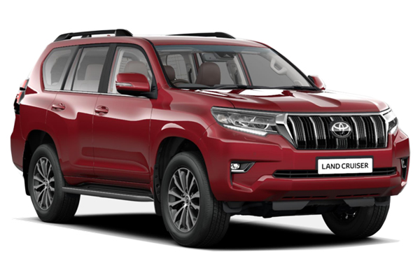 Toyota Land Cruiser Diesel Sw 2.8 D-4d Invincible 5dr Auto [7 Seats] Business Contract Hire 6x35 10000