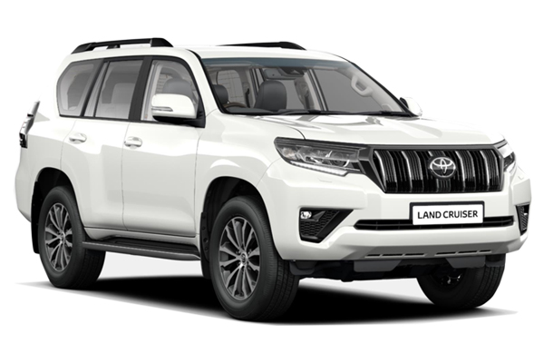 Toyota Land Cruiser Diesel Sw 2.8 D-4d Invincible 5dr Auto [7 Seats Sunroof] Business Contract Hire 6x35 10000