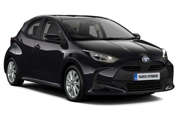 Toyota Yaris Hatchback 1.5 Hybrid Icon 5dr CVT Business Contract Hire 6x35 10000