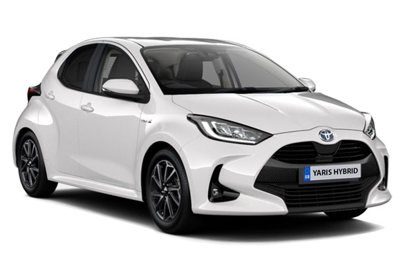 Toyota Yaris Hatchback 1.5 Hybrid Design 5dr CVT Business Contract Hire 6x35 10000