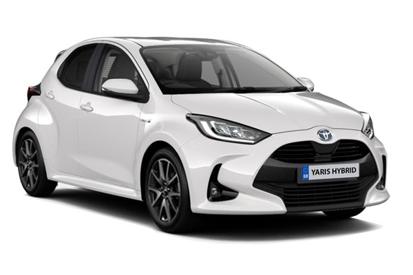 Toyota Yaris Hatchback 1.5 Hybrid Dynamic 5dr CVT Business Contract Hire 6x35 10000