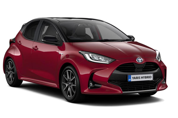 Toyota Yaris Hatchback 1.5 Hybrid Dynamic 5dr CVT [Bi tone] Business Contract Hire 6x35 10000
