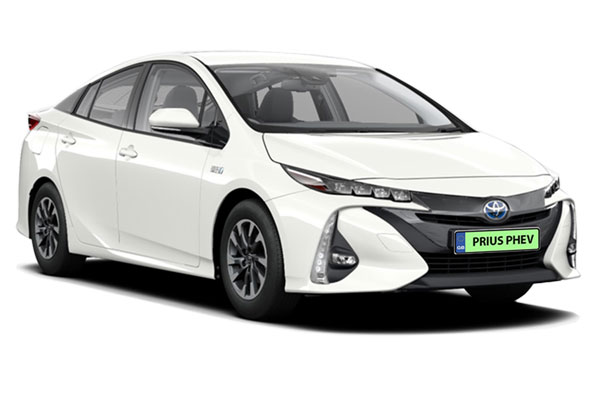 Toyota Prius Hatchback 1.8 PHEV Business Edition Plus 5dr CVT Business Contract Hire 6x35 10000