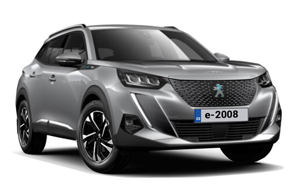 Peugeot E-2008 Electric SUV 100kW Allure 50kWh 5dr Auto Business Contract Hire 6x35 10000