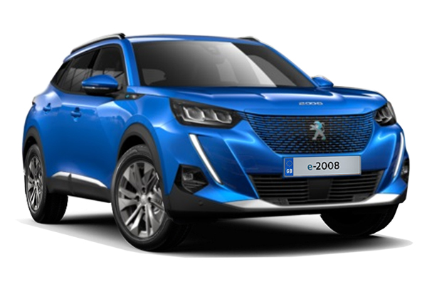 Peugeot E-2008 Electric SUV 100kW Active 50kWh 5dr Auto Business Contract Hire 6x35 10000