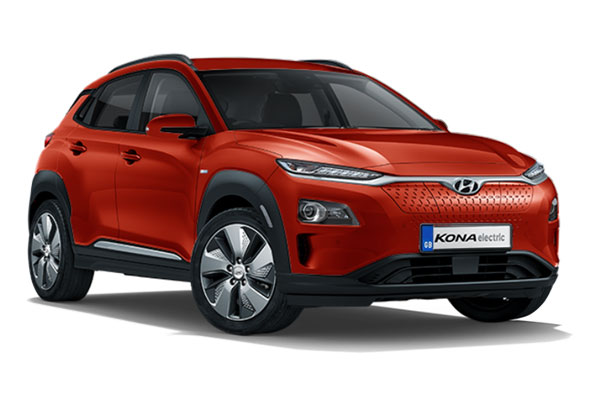 Hyundai Kona SUV Electric Hatchback 100kW Premium 39kWh 5dr Auto [10.5Kw Charger] Business Contract Hire 6x35 10000