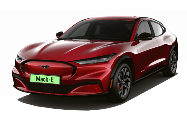 Ford Mustang Mach-E Estate 216kW Extended Range 88kWh RWD 5dr Auto Business Contract Hire 6x35 10000
