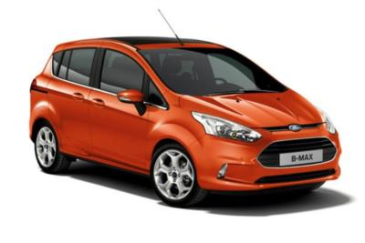 Ford B-Max 1.4 90ps Zetec 5dr 5Mt Business Contract Hire 6x35 10000