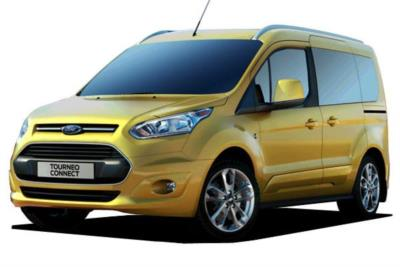 Ford Grand Tourneo Connect Diesel 1.5 Tdci 100ps Zetec 5dr (7 Seat) 5Mt Business Contract Hire 6x35 10000
