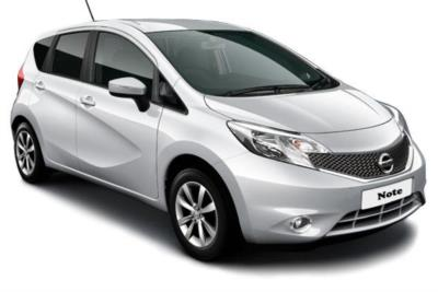 Nissan Note Hatchback 1.2 Acenta 5dr 5Mt Business Contract Hire 6x35 10000