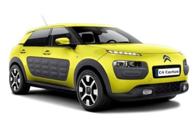 Citroen C4 Cactus Hatchback 1.2 PureTech 82ps Flair 5dr Mt Business Contract Hire 6x35 10000