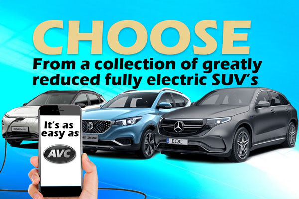 Collection Of Electric SUVs