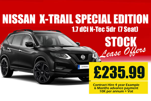 Nissan X Trail 1.7 dCi N-Tec Special Editions 5dr